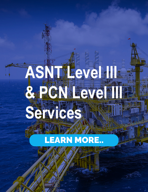 ASNT LEVEL III/ PCN LEVEL III SERVICES