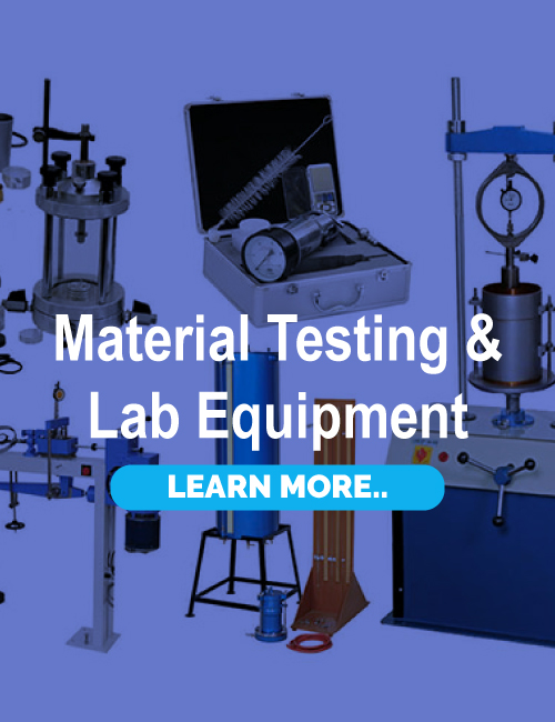 Material Testing & Lab Equipments