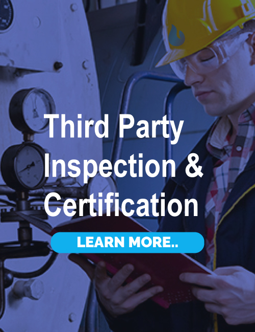 THIRD PARTY INSPECTION & CERTIFICATION